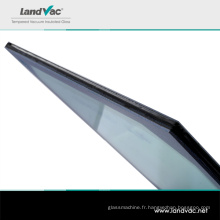 Verre isolant de vide entièrement trempé de nouvelle conception de Landvac pour le verre résidentiel