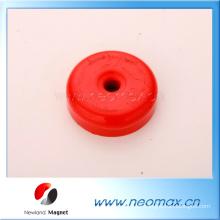 Kundenspezifische runde Form AlNiCo Magneten mit einem kleinen Loch für heißen Verkauf