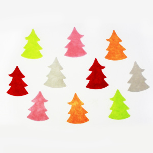 tiny tree felt assortment sticker