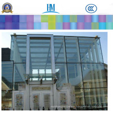 Colro/Clear Sheet Glass, Decorative Fence Panels for Household Glass