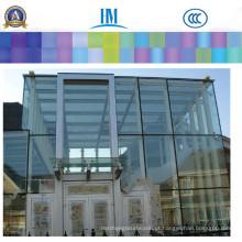 Colro / vidro de folha claro, painéis de cerca decorativos para o vidro do agregado familiar