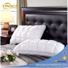 Wholesale 7D Hollow Fiber Filled Polyester Cover Cotton Fabric Sleeping Pillow