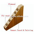 Interior bedroom veneer skin wooden doors