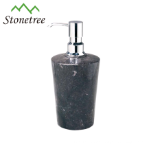 Bathroom accessories marble bath lotion pump