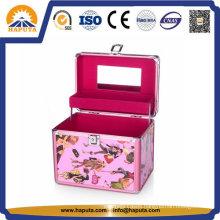 Lovely Aluminum Jewellery Storage Box (HB-2044)