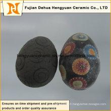 Vente en céramique d'oeufs de pâques en céramique décoratif