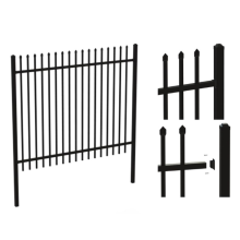 5 Foot Wrought Iron Fence And Gates (factory directly)