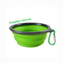 Pet Bowl Travel Dog Bowls Foldable Travel Cat Dog Food Water Feeding Travel Outdoor Bowl