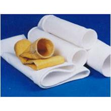 Bolso de filtro industrial no tejido de alta temperatura de PTFE del polvo