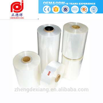 película laminada del fabricante de la película del PVC película transparente del estiramiento del PE para la mano o el abrigo de la máquina