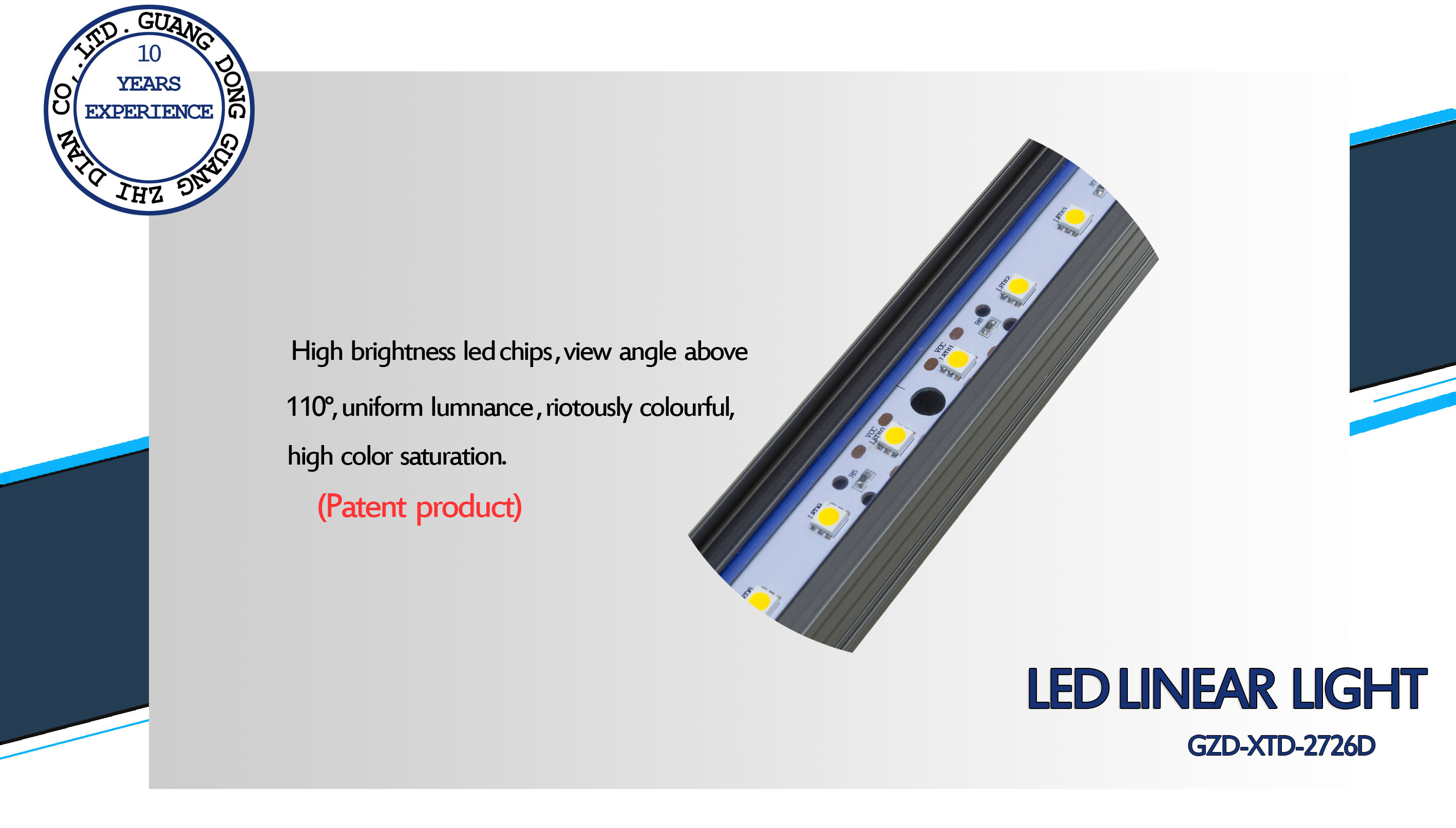 outdoor led rigid bar light