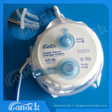 Système chirurgical étroit de drainage de blessure de produits chirurgicaux avec Ce et OIN