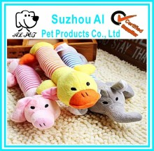 Soft Sound Squeaker Chew Chewing Puppy Pet Toy Playing Plush Dog Toy