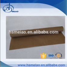 Kaffeefarbe in Rolle PTFE beschichtetes Glasfasergewebe Tuch