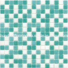 Mosaico de cristal barato de la piscina del azulejo de mosaico (HSP317)