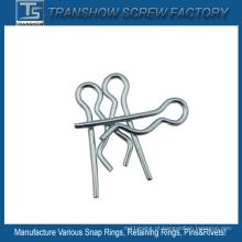 Pino do fio R do aço da mola de 3.2 * 32mm único