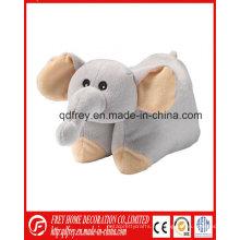 Proveedor de China para el juguete relleno de elefante suave almohada