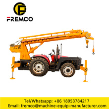 Telescopic Boom Tractor Crane with Multiple Function