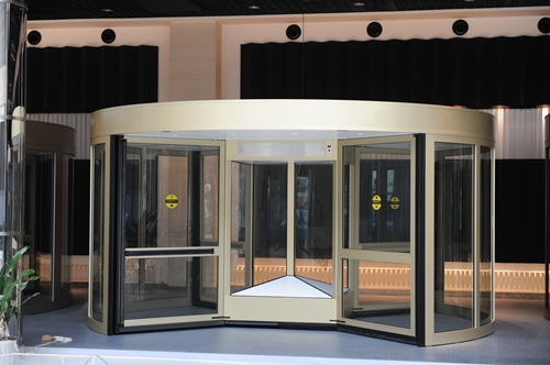 Stable Four-wing Revolving Doors for Main Entrances