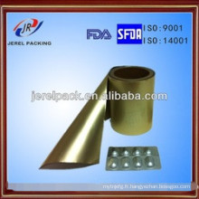 Alu inférieur aluminium Alu (Ny / Al / PVC0