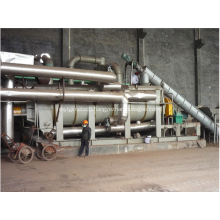 Hollow Paddle Dryer machine for sludge materials