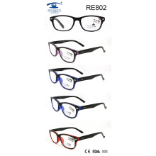 2017 Latest Unsix Double Color Wholesale Reading Glasses (RE802)