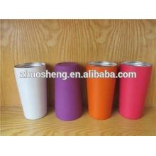 respetuoso del medio ambiente impreso precio caliente al aire libre 14 oz tazas de café cerámica