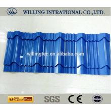 Metal zinc roof folha preço de corte quente saled china