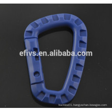 Blue Lightweight medium-sized D shape tactical hooks (ITW) wholesale.