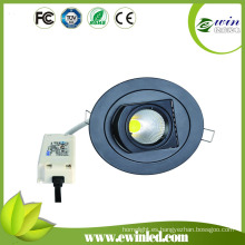 Downlight giratorio de 10W LED con CE RoHS