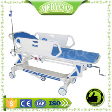 Manual patient transfer trolley stretcher patient trolley