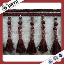 High Quality Wholesale Colorful Beaded Tassel,Tassel Fringe