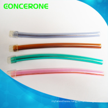 Transparent Disposable Dental PVC Saliva Ejector with Tip