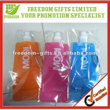 A melhor garrafa de água dobrável relativa à promoção de venda