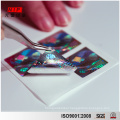 Make Your Own 3D Holographic Stickers with Micro Text