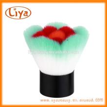 Professional bunte Blume weiche Gesichts Make-up Pinsel