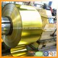 hojalata y bobina de hojalata de barniz y hoja para el giro de producción de la tapa de la laca
