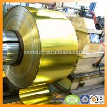 laque de fer-blanc et bobine de fer-blanc de vernis et feuille pour twist off production cap