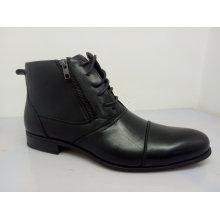 Zapatos de oficina para hombre Zipper Lace NX 531