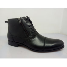 Zipper Lace Mens Office Shoes NX 531