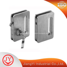 Serrure de porte en acier inoxydable pour portes en verre