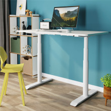 Adjustable Hight Desk with Lifting Round Legs
