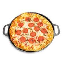 14 Zoll Rund Gusseisen Kochgeschirr Pizza Pan