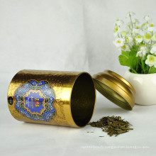 Biscuit rond de qualité alimentaire Étain Tea Tin Custom Tins Wholesale
