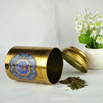 Lebensmittel-Grad-runder Plätzchen-Zinn-Tee-Zinn-kundenspezifische Dosen Großverkauf