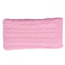 15BLT1017 cabo malha bebê cashmere cobertor lance