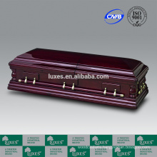 LUXES High Quality Wooden Caskets Oversize Casket For Funeral