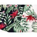 Tissu imprimé 100% coton extensible Wonderful Design