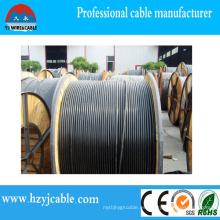 Paquete del tambor de madera 0.6 / 1kv XLPE Cable de alimentación del puerto de Ningbo / de Shangai