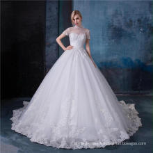 Long sleeve wedding dress bridal gowns HA607A
